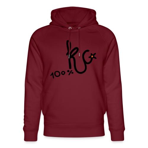 100%KC - Uniseks bio-hoodie van Stanley & Stella