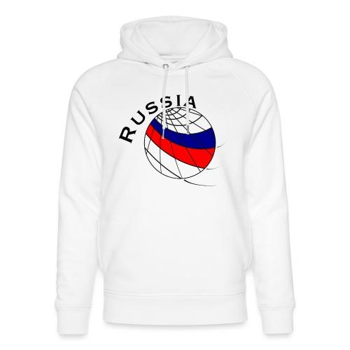 Russland Fußballmotiv - Sudadera con capucha ecológica unisex de Stanley & Stella