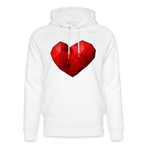 Heartart - Unisex Organic Hoodie by Stanley & Stella