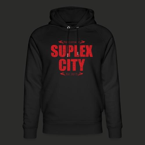 Suplex City Mens T-Shirt - Unisex Organic Hoodie by Stanley & Stella