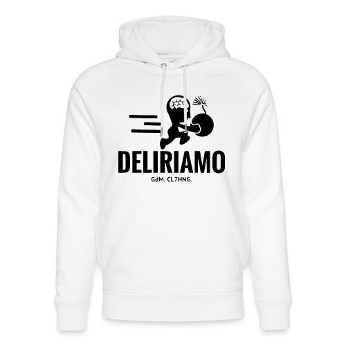 DELIRIAMO CLOTHING BRAINBOMB - Felpa con cappuccio ecologica unisex di Stanley & Stella