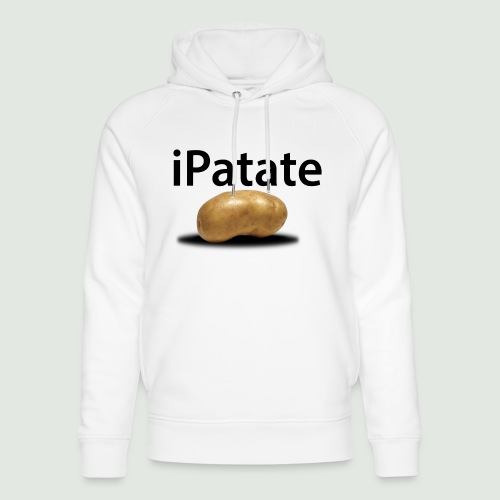 iPatate - Sweat à capuche bio Stanley & Stella unisexe