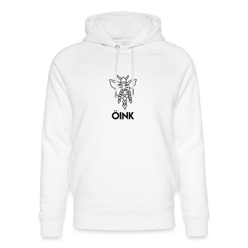 Oink Viking Pig - Unisex Organic Hoodie by Stanley & Stella