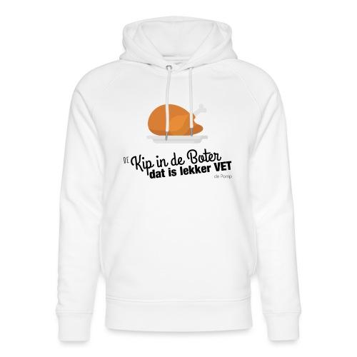 De Kip in de Boter - Uniseks bio-hoodie van Stanley & Stella