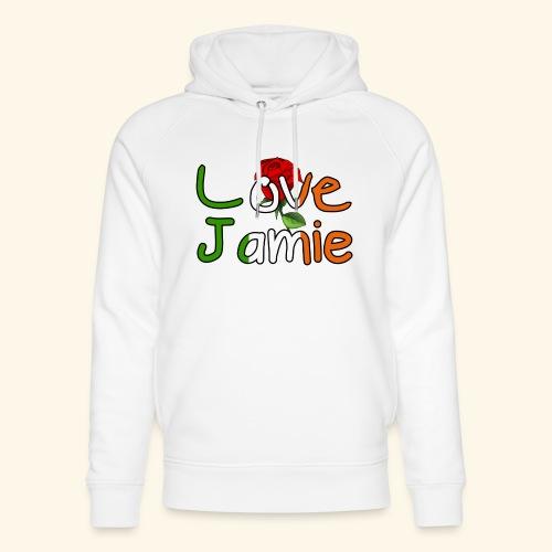 Jlove - Unisex Organic Hoodie by Stanley & Stella