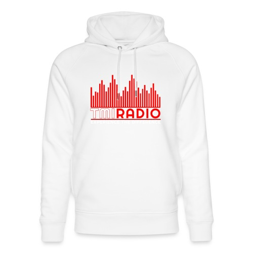 NEW TMI LOGO RED AND WHITE 2000 - Unisex Organic Hoodie by Stanley & Stella