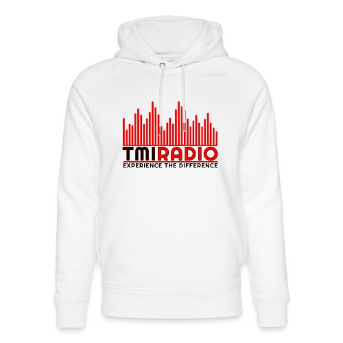 NEW TMI LOGO RED AND BLACK 2000 - Unisex Organic Hoodie by Stanley & Stella