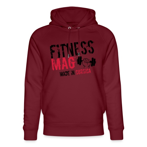 Fitness Mag made in corsica 100% Polyester - Sweat à capuche bio Stanley & Stella unisexe