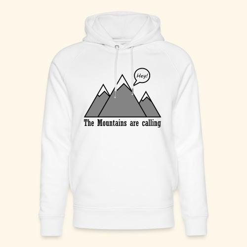 mountains calling - Unisex Bio-Hoodie von Stanley & Stella