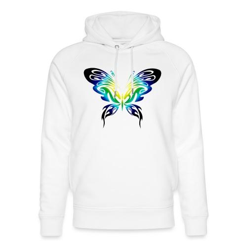 Motyl kolor - Ekologiczna bluza z kapturem typu unisex Stanley & Stella