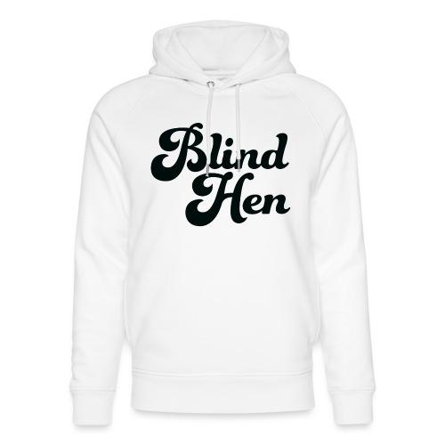 Blind Hen - Logo Lady fit premium, blue - Unisex Organic Hoodie by Stanley & Stella