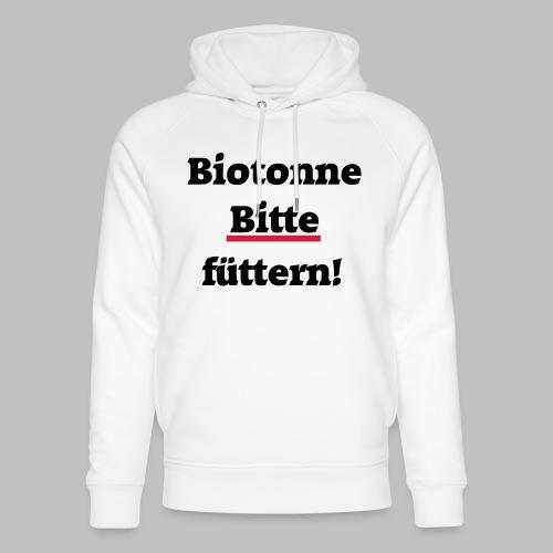 Biotonne - Bitte füttern! - Unisex Bio-Hoodie von Stanley & Stella