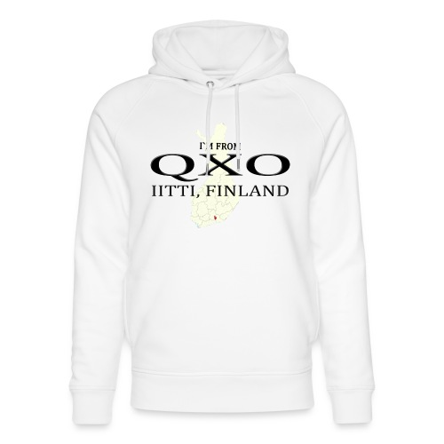 QXO - Stanley & Stellan unisex-luomuhuppari
