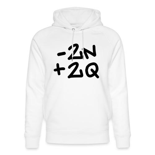 -2n+2q - Unisex Organic Hoodie by Stanley & Stella