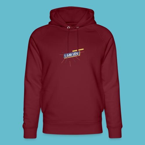 I AM LEV Banner - Uniseks bio-hoodie van Stanley & Stella