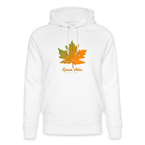 Space Atlas Long Sleeve T-shirt Autumn Leaves - Stanley & Stella unisex hoodie af økologisk bomuld