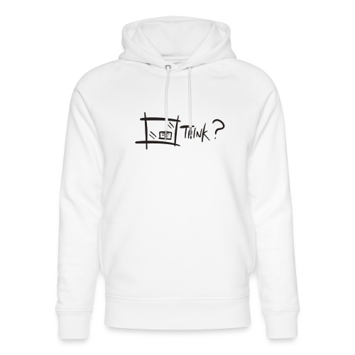Think Outside The Box - Unisex Organic Hoodie by Stanley & Stella