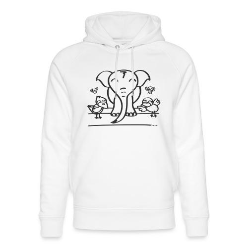 78 elephant - Unisex Bio-Hoodie von Stanley & Stella
