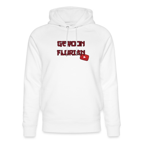 GewoonFlorian - Shirt - Uniseks bio-hoodie van Stanley & Stella