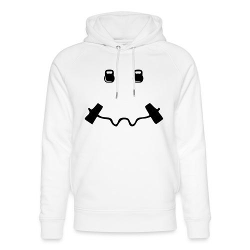 Happy dumb-bell - Uniseks bio-hoodie van Stanley & Stella