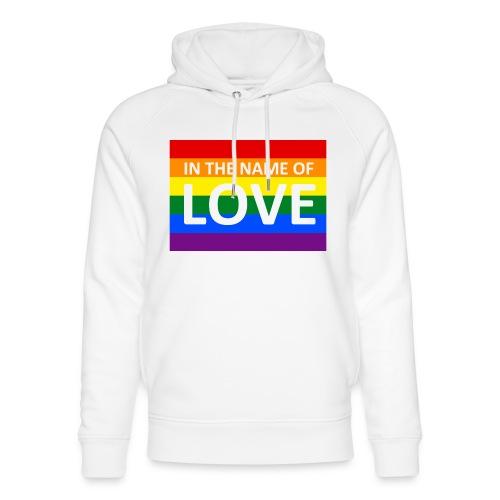 IN THE NAME OF LOVE CAP - Stanley & Stella unisex hoodie af økologisk bomuld