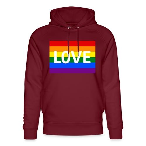 LOVE CAP - Stanley & Stella unisex hoodie af økologisk bomuld