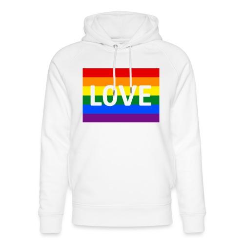 LOVE RETRO T-SHIRT - Stanley & Stella unisex hoodie af økologisk bomuld