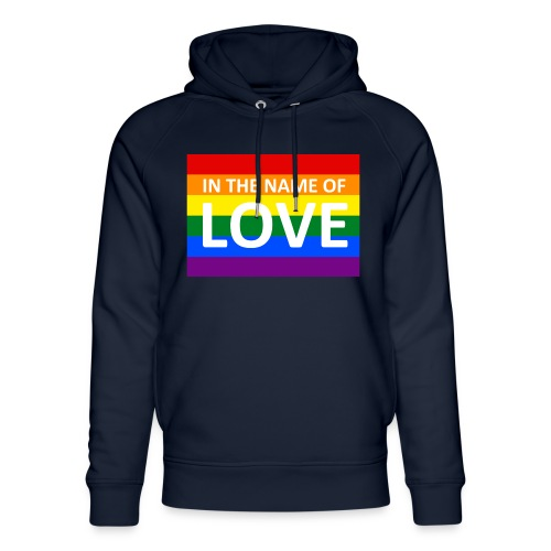 IN THE NAME OF LOVE RETRO T-SHIRT - Stanley & Stella unisex hoodie af økologisk bomuld
