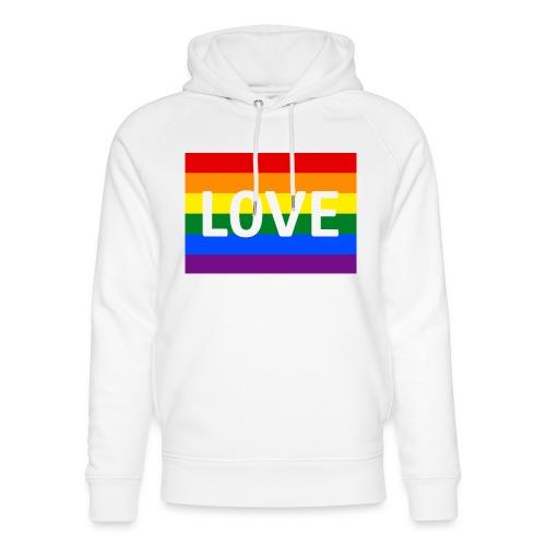 LOVE SHIRT - Stanley & Stella unisex hoodie af økologisk bomuld