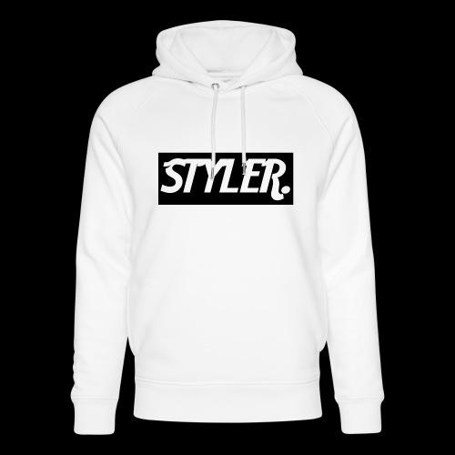 STYLER-LOGO - Sweat à capuche bio Stanley & Stella unisexe