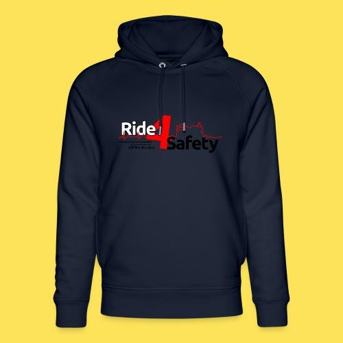 Ride4Safety - Felpa con cappuccio ecologica unisex di Stanley & Stella