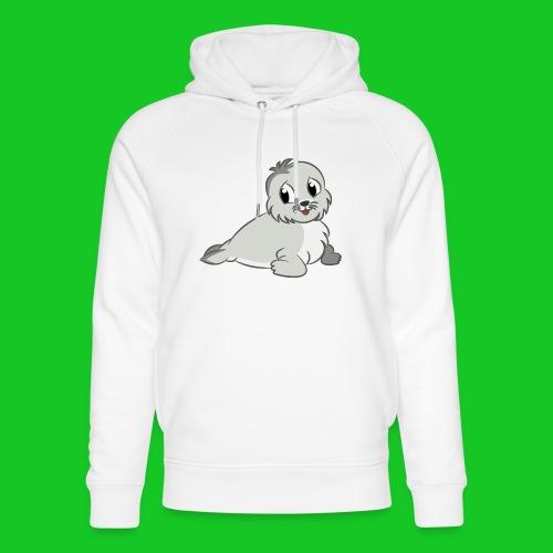Zeehondje - Uniseks bio-hoodie van Stanley & Stella