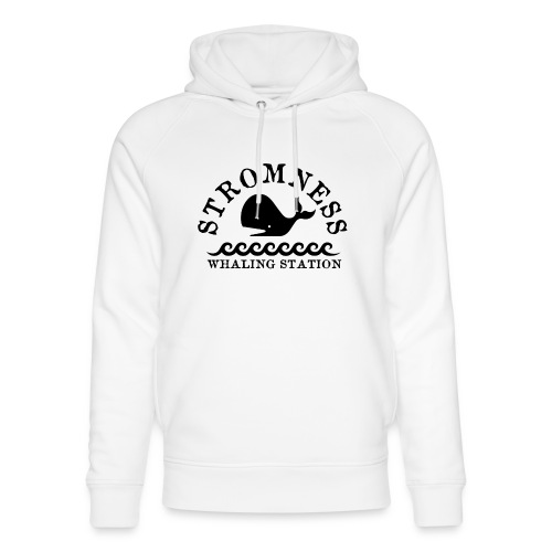 Sromness Whaling Station - Unisex Organic Hoodie by Stanley & Stella