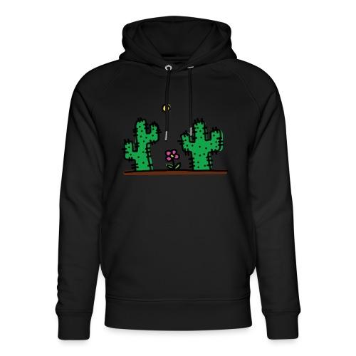 Cactus - Felpa con cappuccio ecologica unisex di Stanley & Stella
