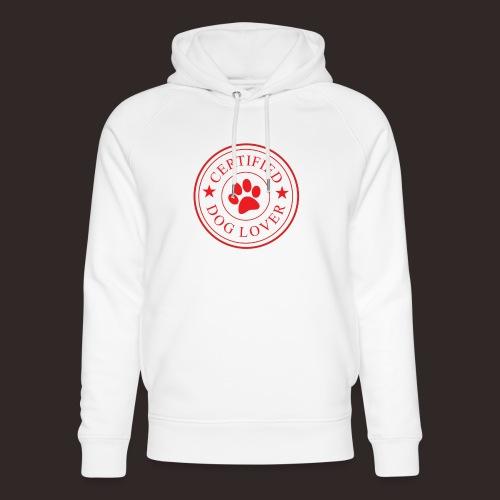 Zertifizierter Hundeliebhaber | Hund Liebe Dog - Unisex Bio-Hoodie von Stanley & Stella