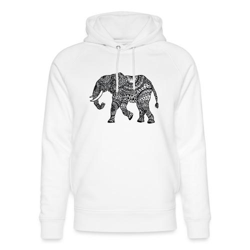 Elefant, gemustert - Unisex Bio-Hoodie von Stanley & Stella