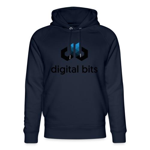 digitalbits Logo mit Schriftzug - Unisex Bio-Hoodie von Stanley & Stella