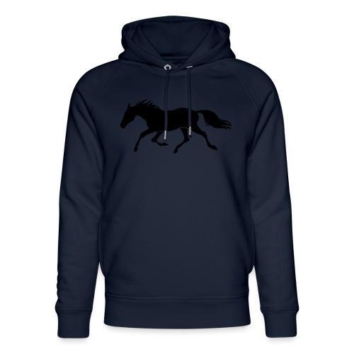 Cavallo - Felpa con cappuccio ecologica unisex di Stanley & Stella