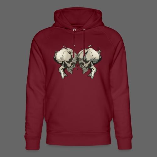 MHF_Logo_Loose-Skulls - Unisex Organic Hoodie by Stanley & Stella