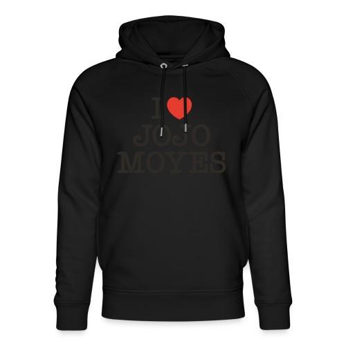 I LOVE JOJO MOYES - Stanley & Stella unisex hoodie af økologisk bomuld
