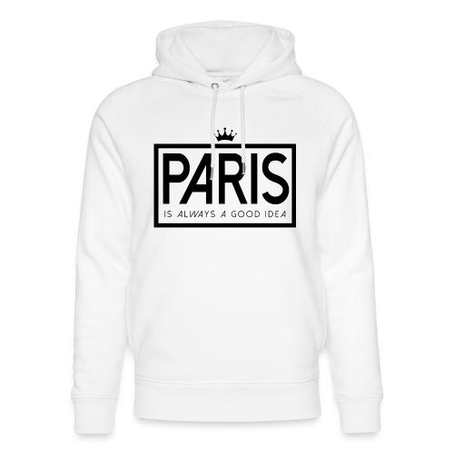 PARIS, FRANCE - Unisex Organic Hoodie by Stanley & Stella