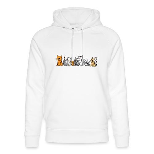 Cats & Cats - Uniseks bio-hoodie van Stanley & Stella