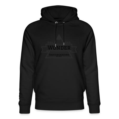 Wonder T-shirt: mountain logo - Stanley & Stella unisex hoodie af økologisk bomuld