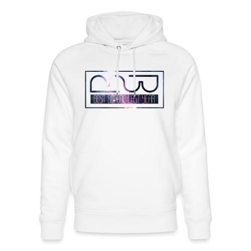 Cap logo Purple - Unisex Organic Hoodie by Stanley & Stella