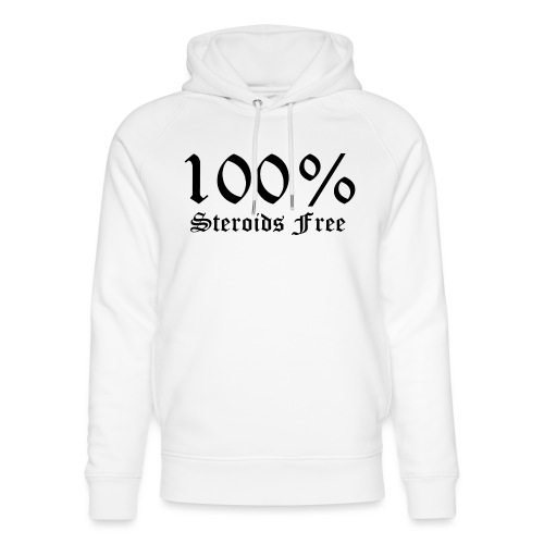 100% bez sterydów - Ekologiczna bluza z kapturem typu unisex Stanley & Stella