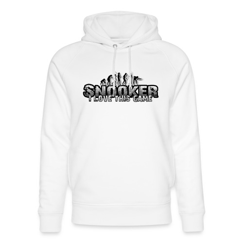 snooker i love this game - Unisex Bio-Hoodie von Stanley & Stella