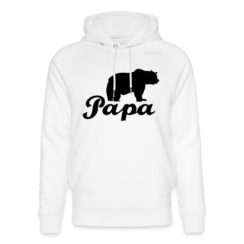 papa beer - Uniseks bio-hoodie van Stanley & Stella