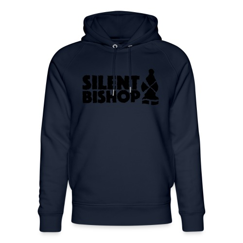 Silent Bishop Logo Groot - Uniseks bio-hoodie van Stanley & Stella