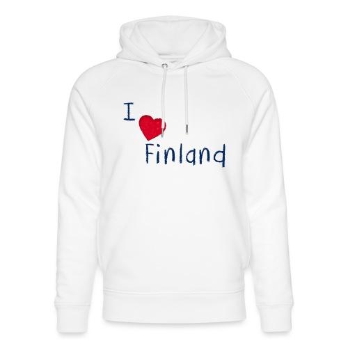 I Love Finland - Stanley & Stellan unisex-luomuhuppari