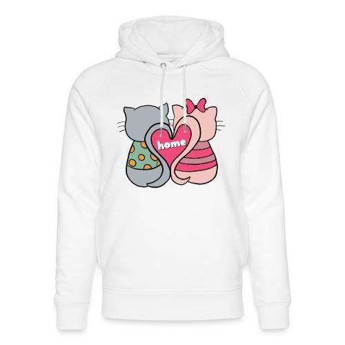 Cats - Unisex Organic Hoodie by Stanley & Stella